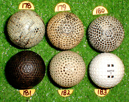 old golf ball