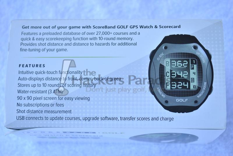 ScoreBand Golf Watch2