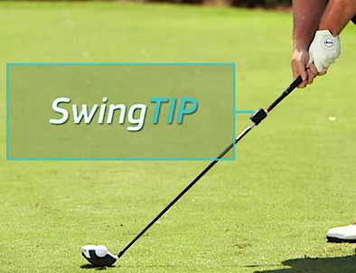 swingTIP Golf Swing Analysis-on-club