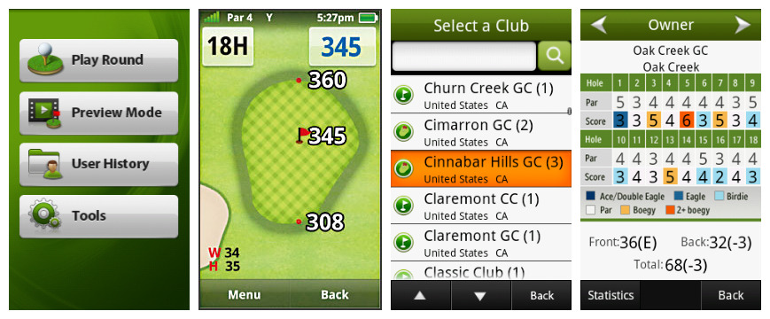 Golf Buddy Platinum II Golf GPS Review
