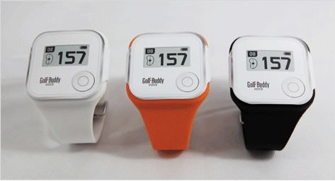 Golfbuddy Voice GPS Watch