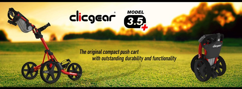 Clicgear Model 3.5+ Golf Cart Review