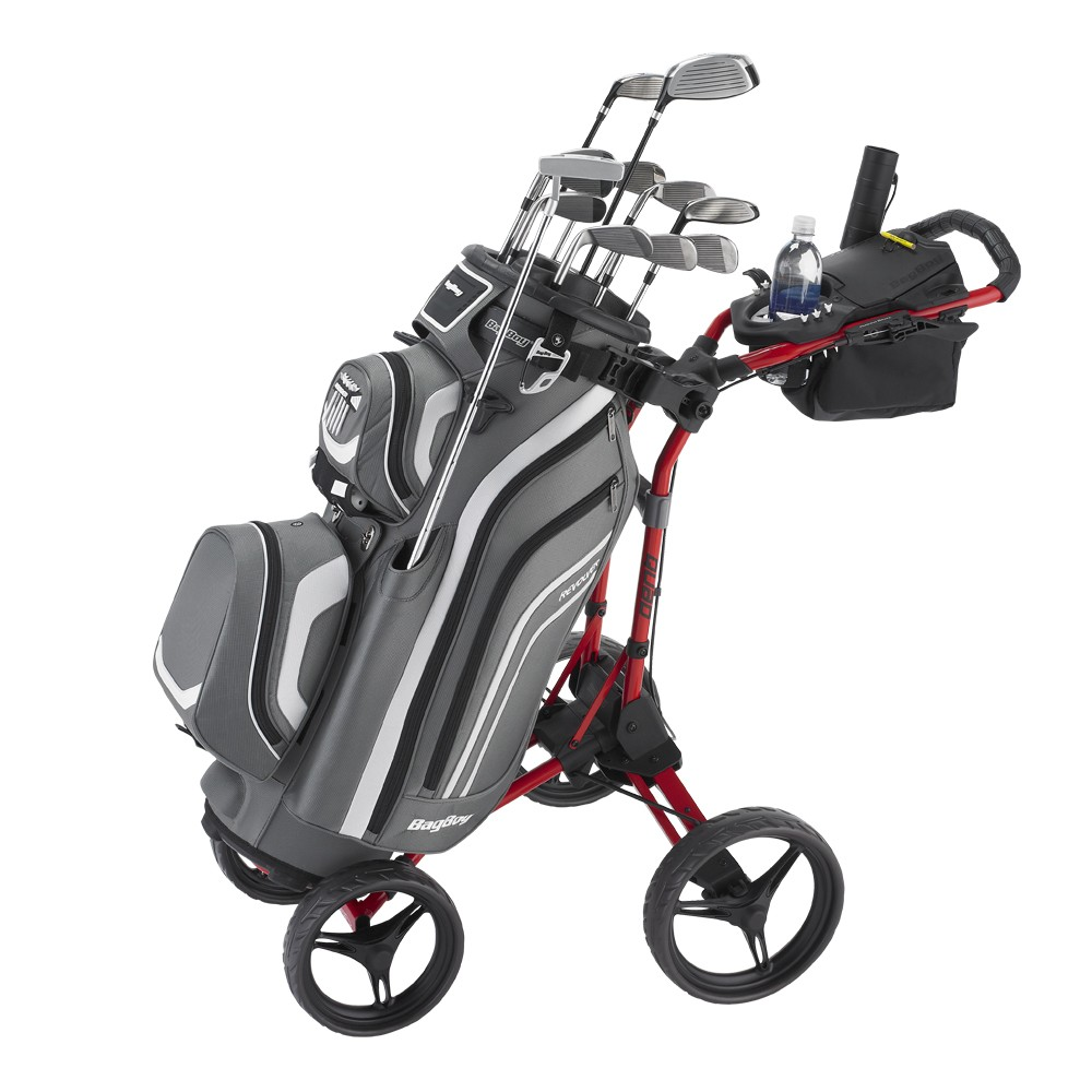 Bag Boy Quad Plus Golf Push Cart Review