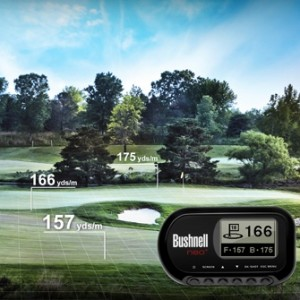 Bushnell Neo Plus Golf GPS Rangefinder