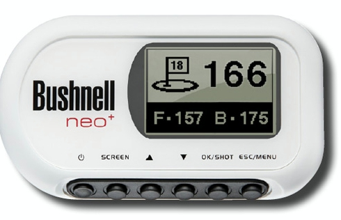 bushnell neo plus golf gps rangefinder