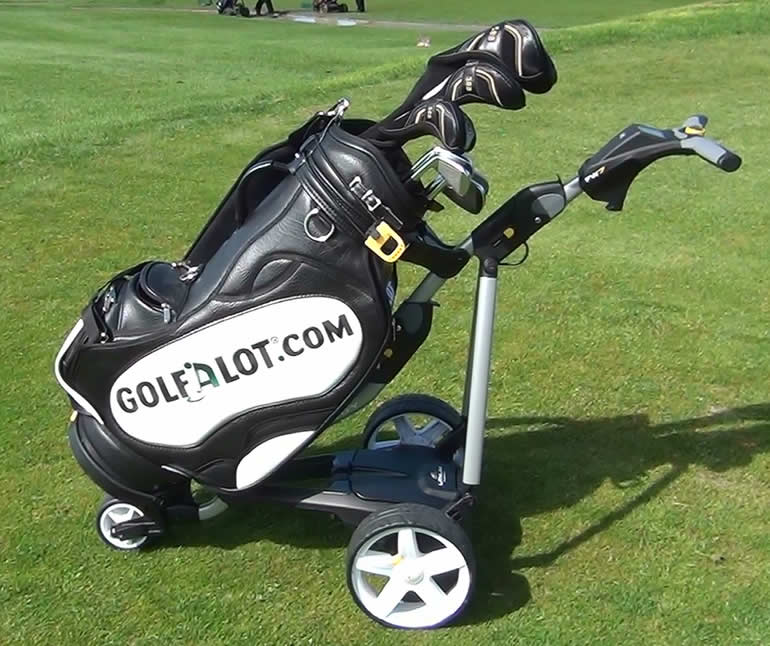 golf push cart review