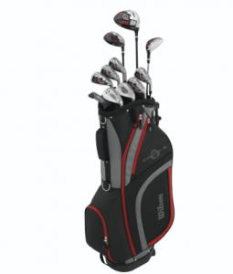wilson men's profile XLS golf clubs set