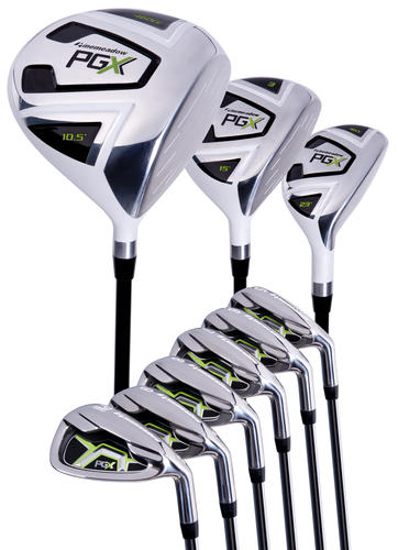 Pinemeadow Men's PGX Golf Set
